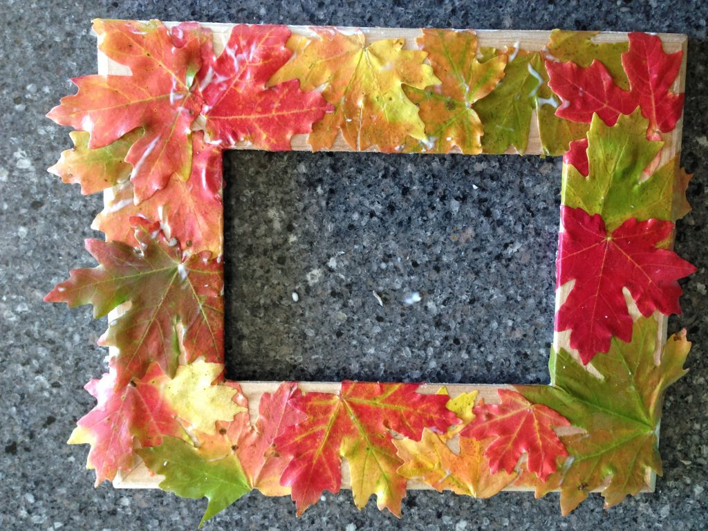 Fall Frame Step 2