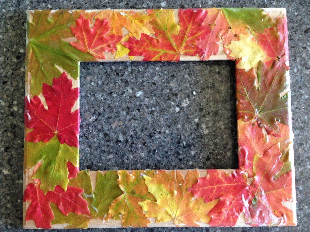 Fall Frame Step 3