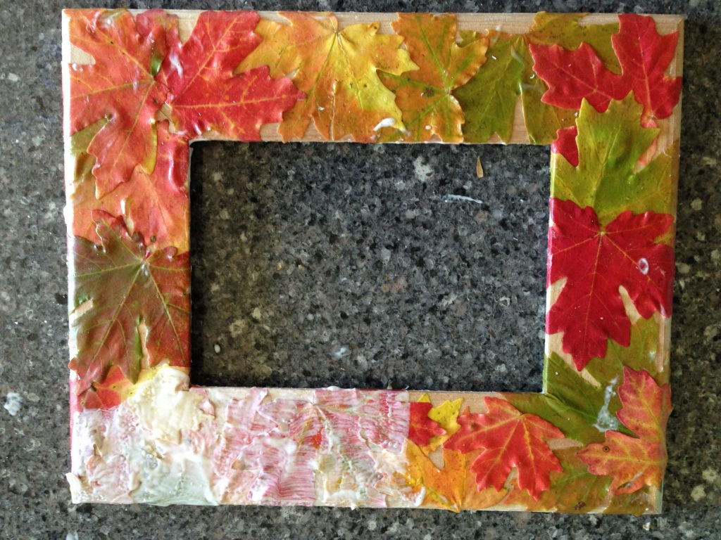 Fall Frame Step 4