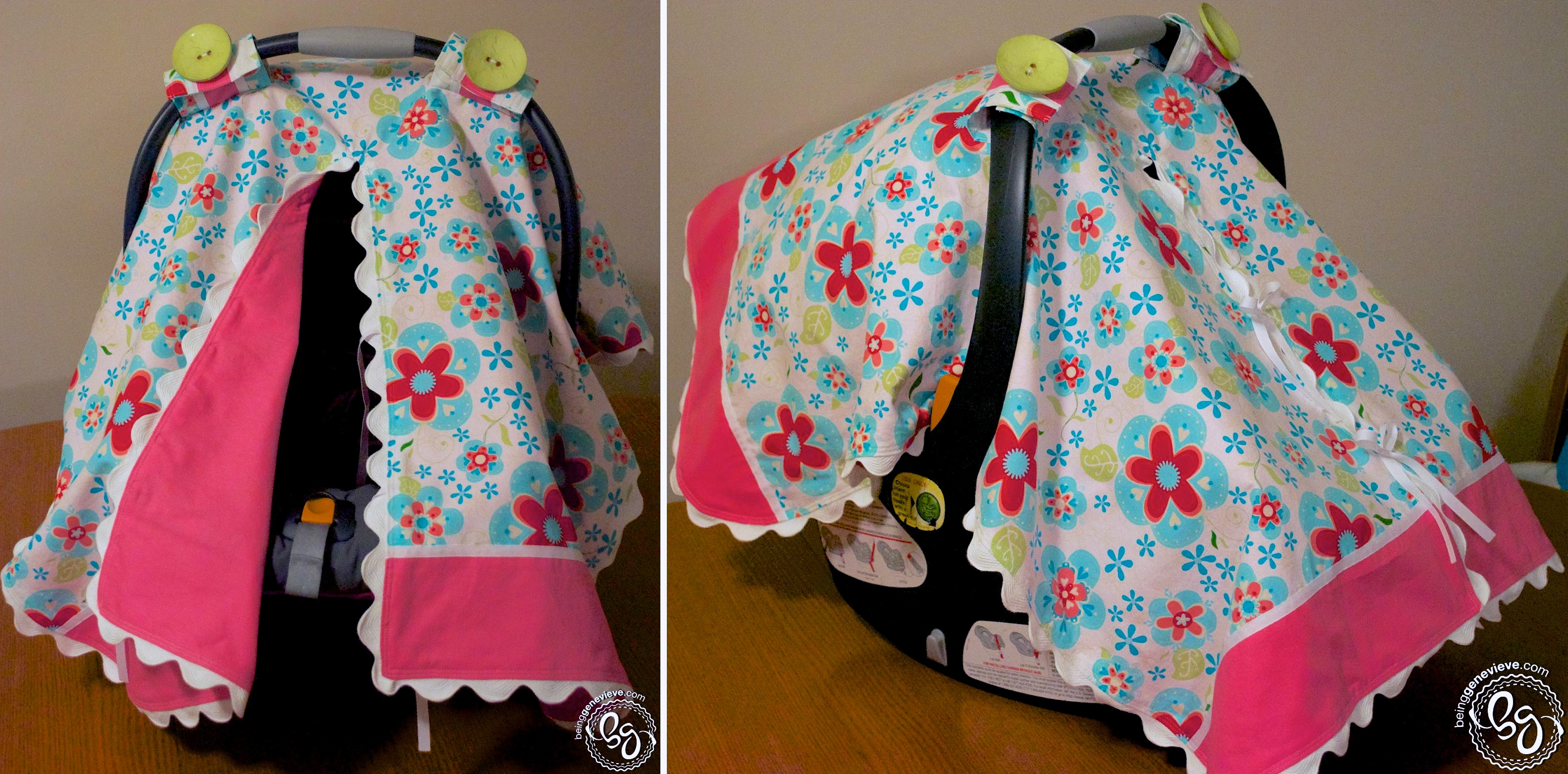 Carseat Canopy Being Genevieve
