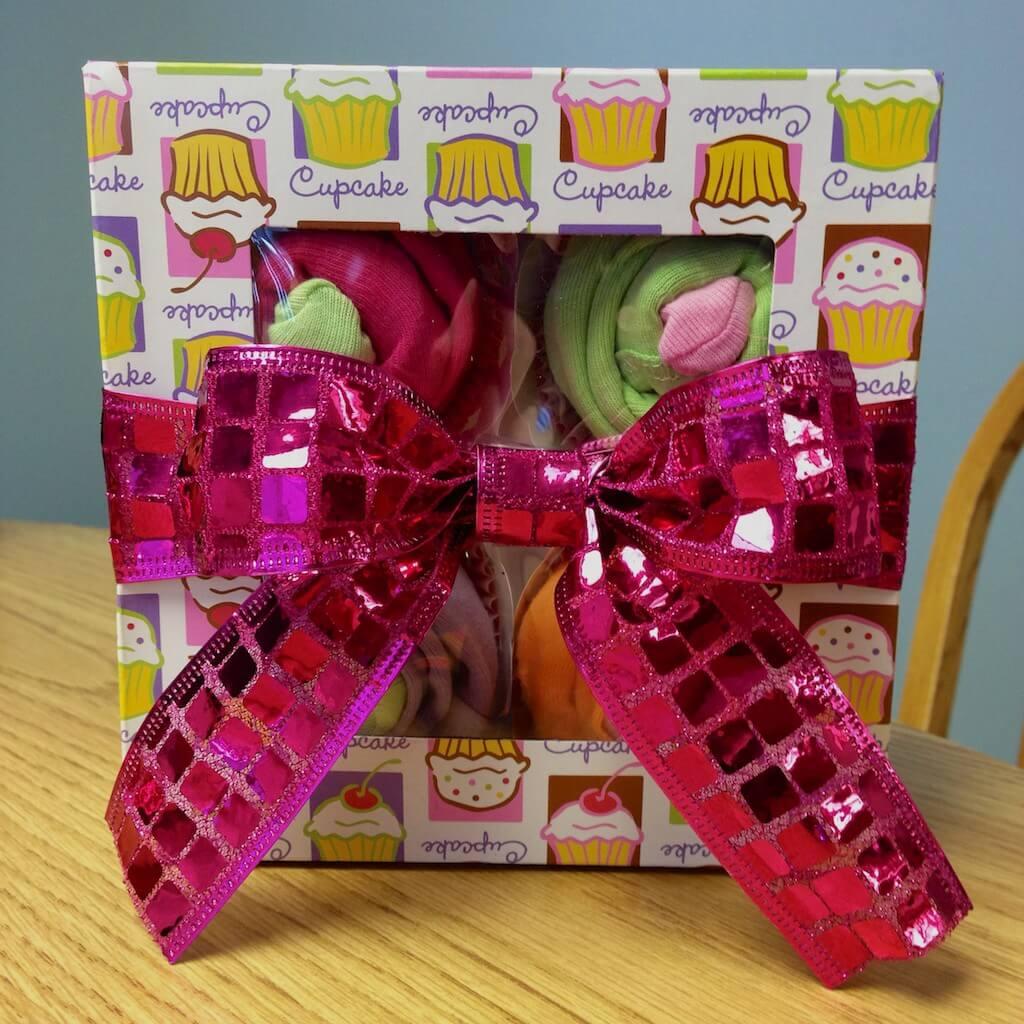 Cupcake Onesies gift