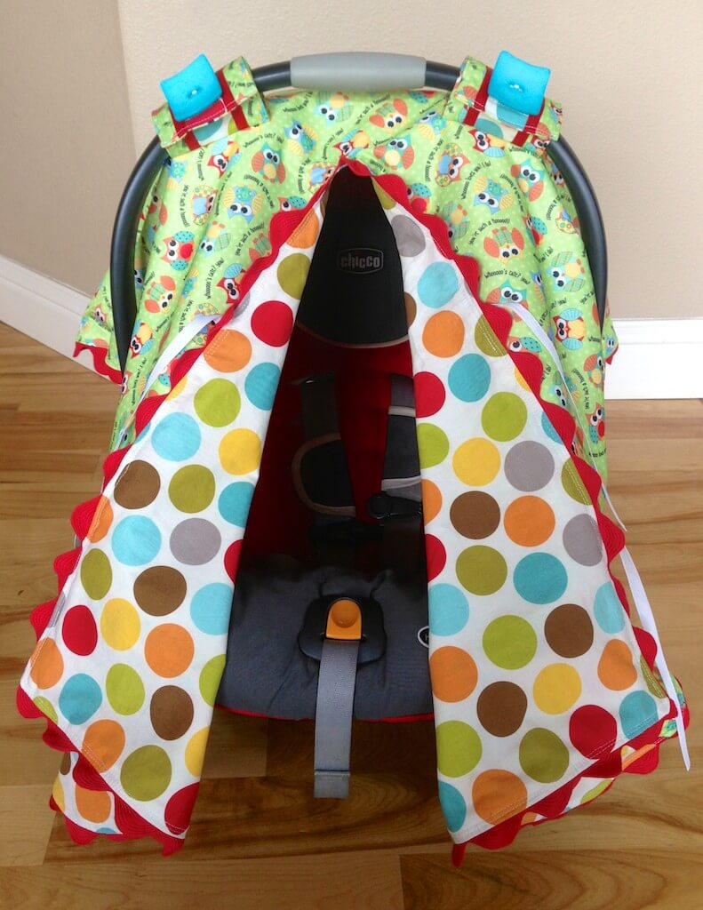 Carseat canopy being genevieve for Housse maxi cosi cabriofix