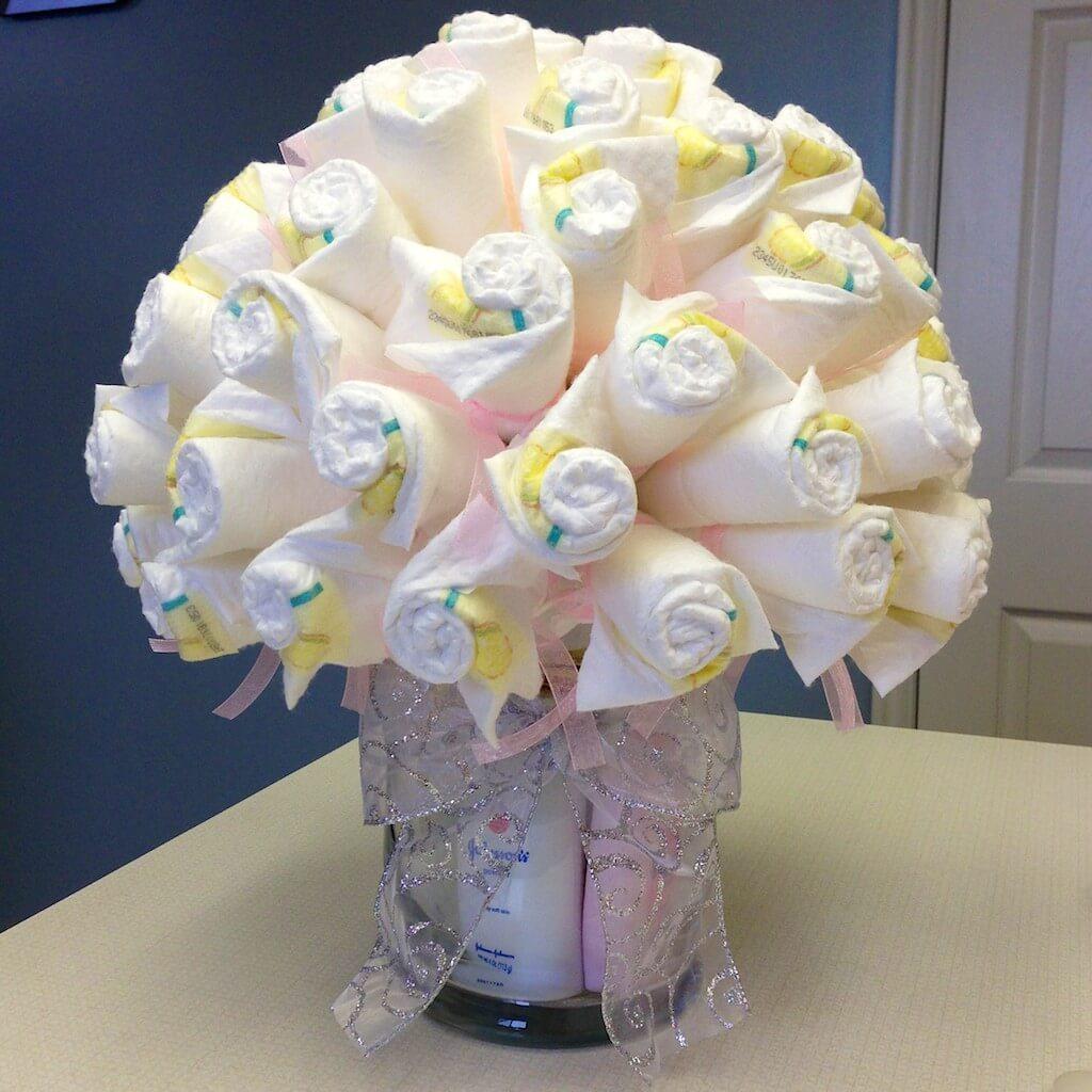 Tie a decorative ribbon around the vase.