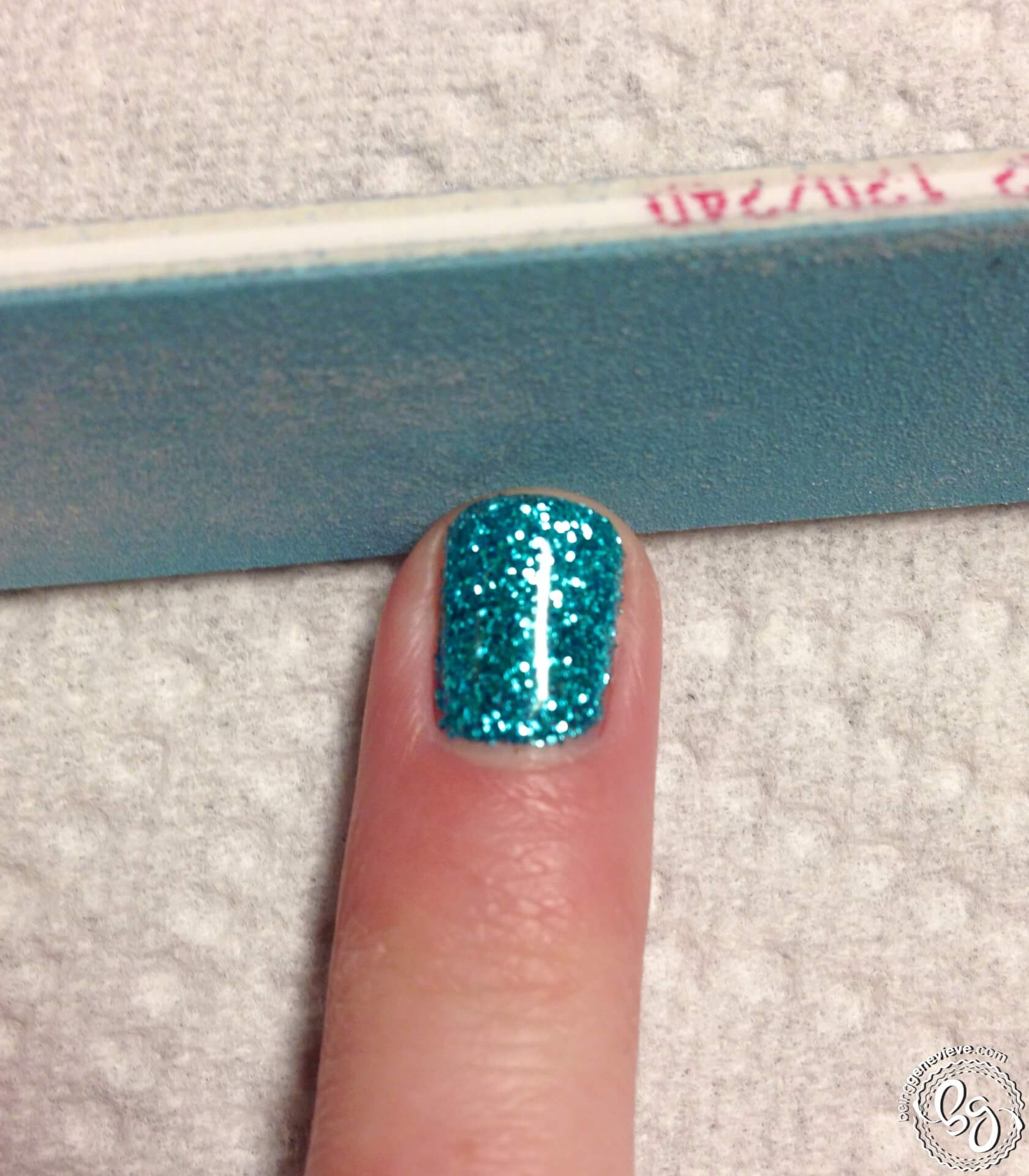Glitter Toes | Being Genevieve