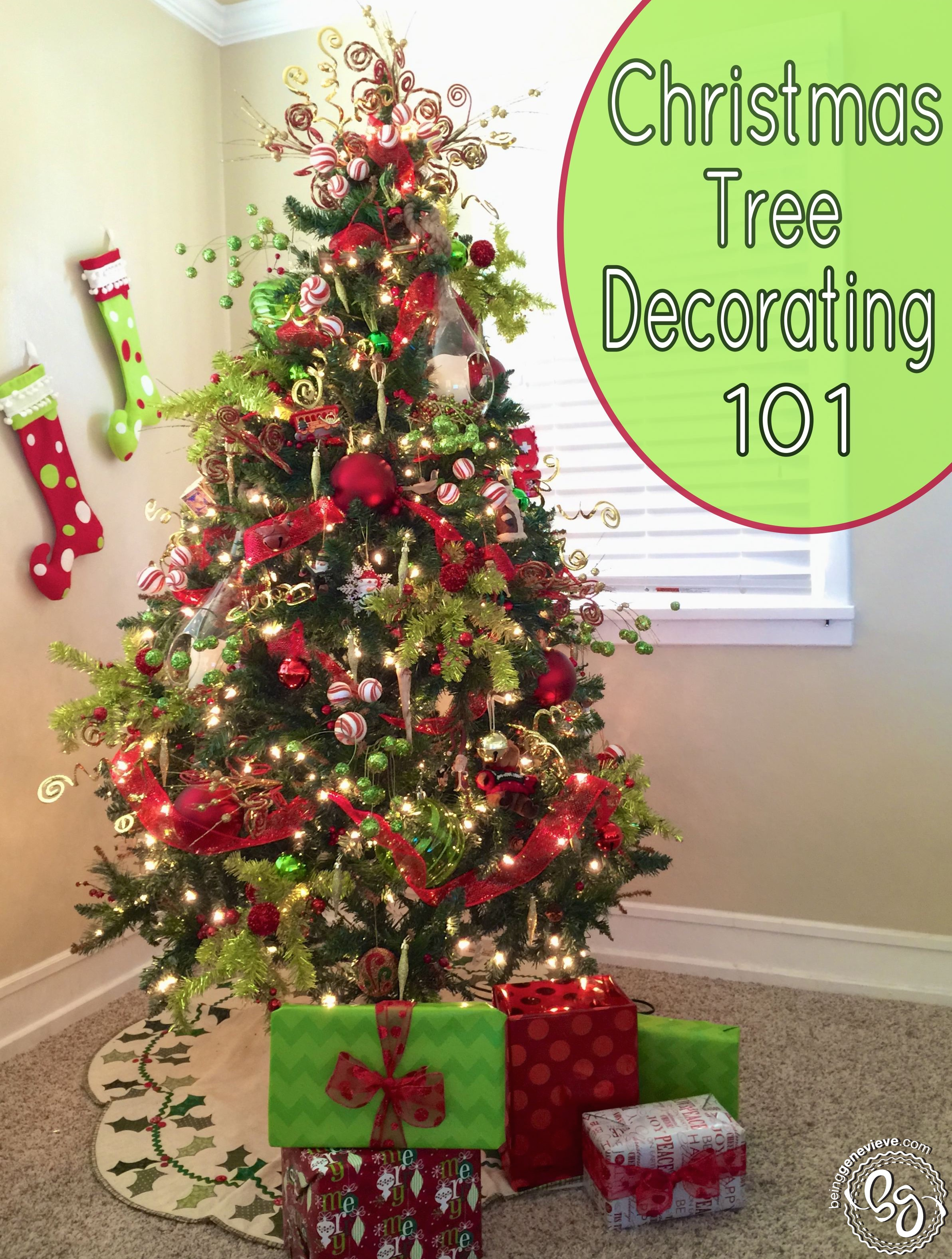 Decorating 101 christmas tree decorating 101 | being genevieve