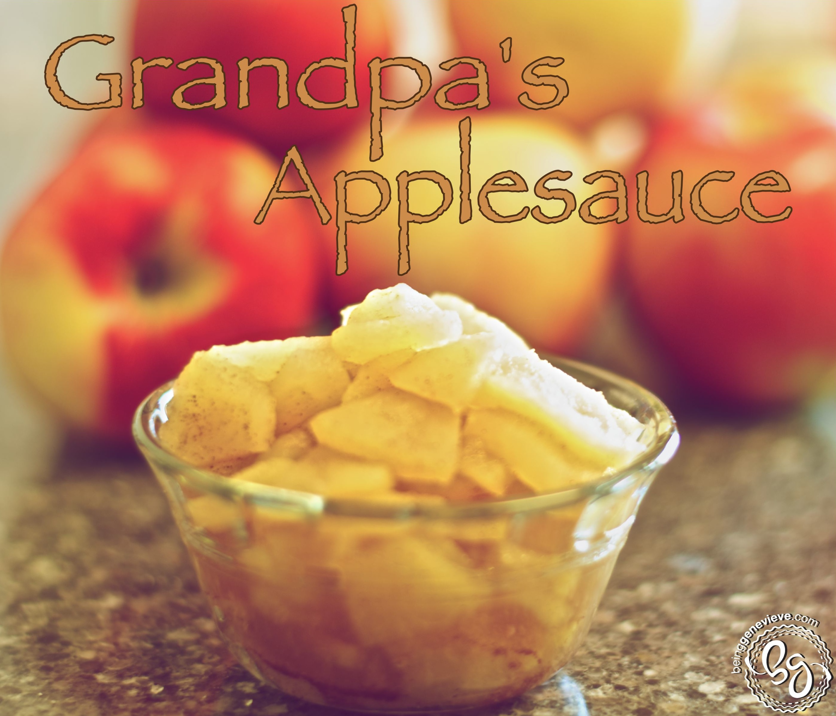 Grandpa's Applesauce