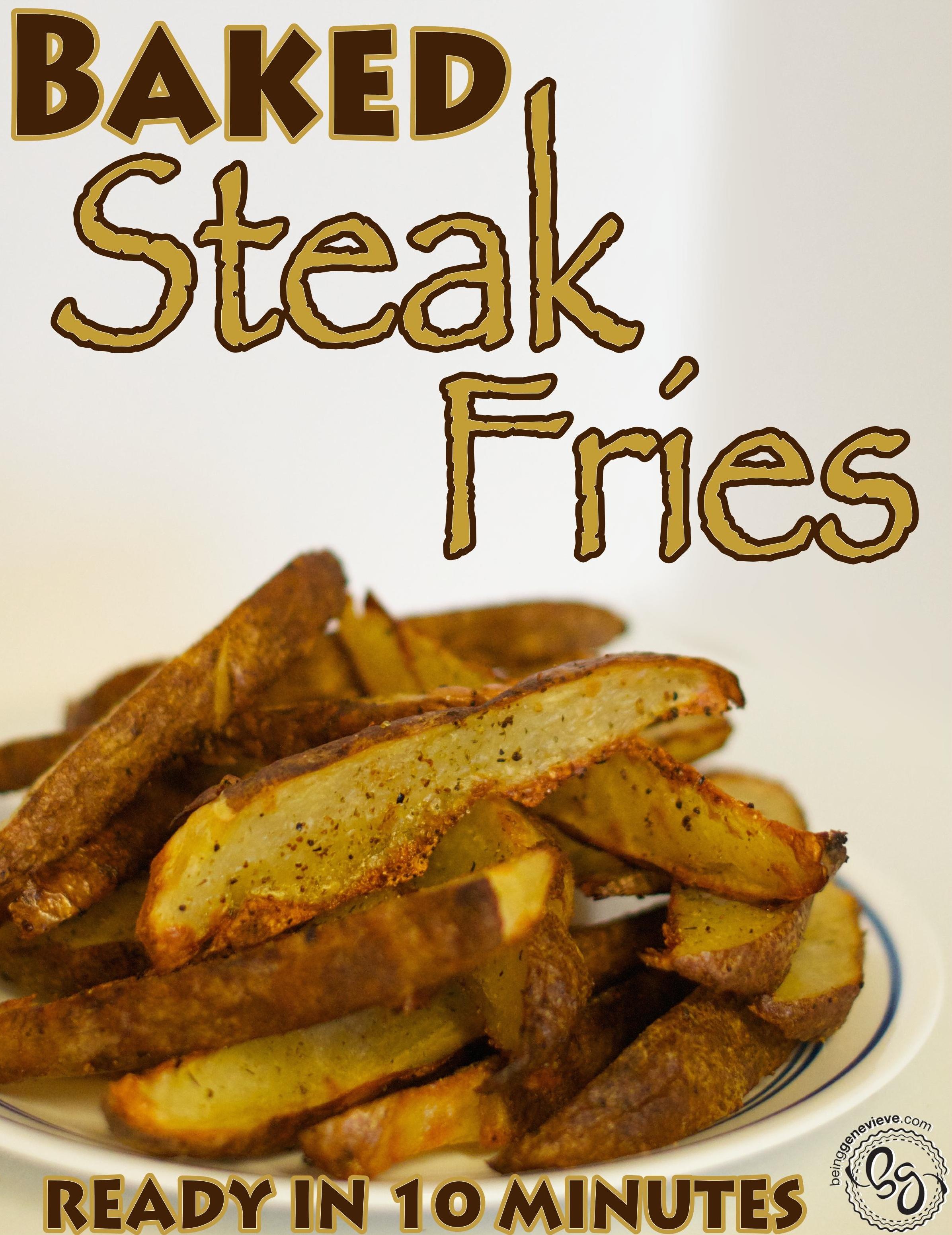 Baked Steak Fries