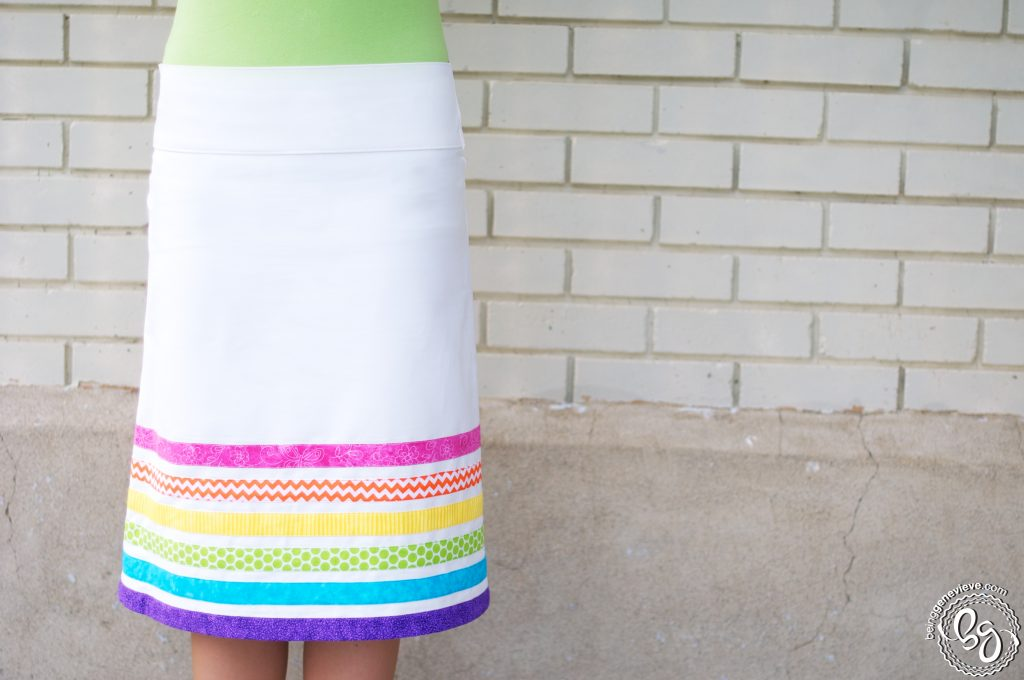 Dash of Color Skirt