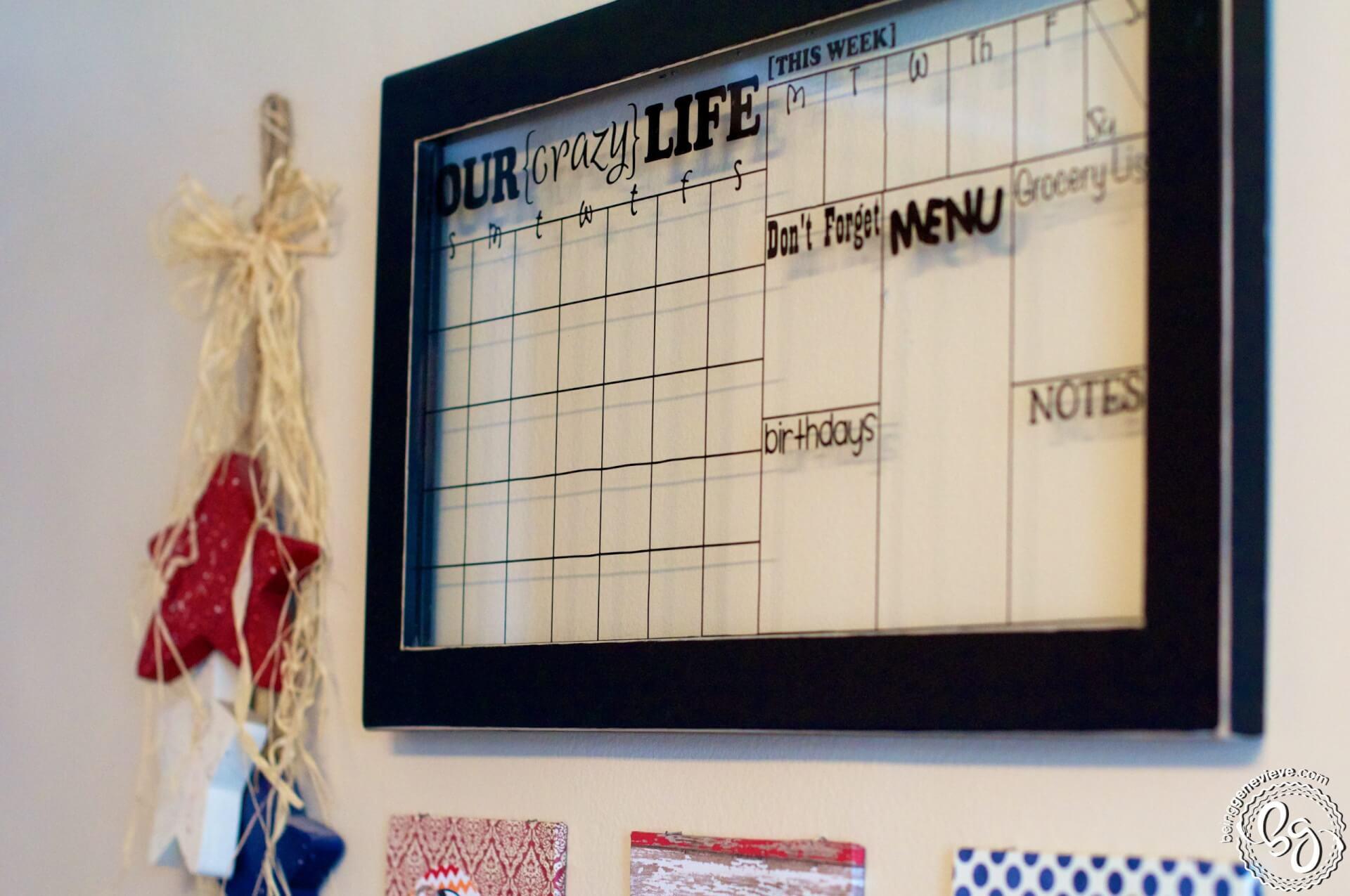 Our {Crazy} Life Calendar