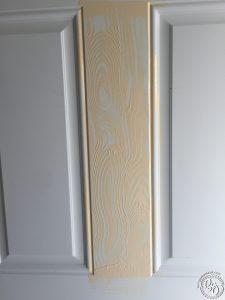 Faux Wood Door