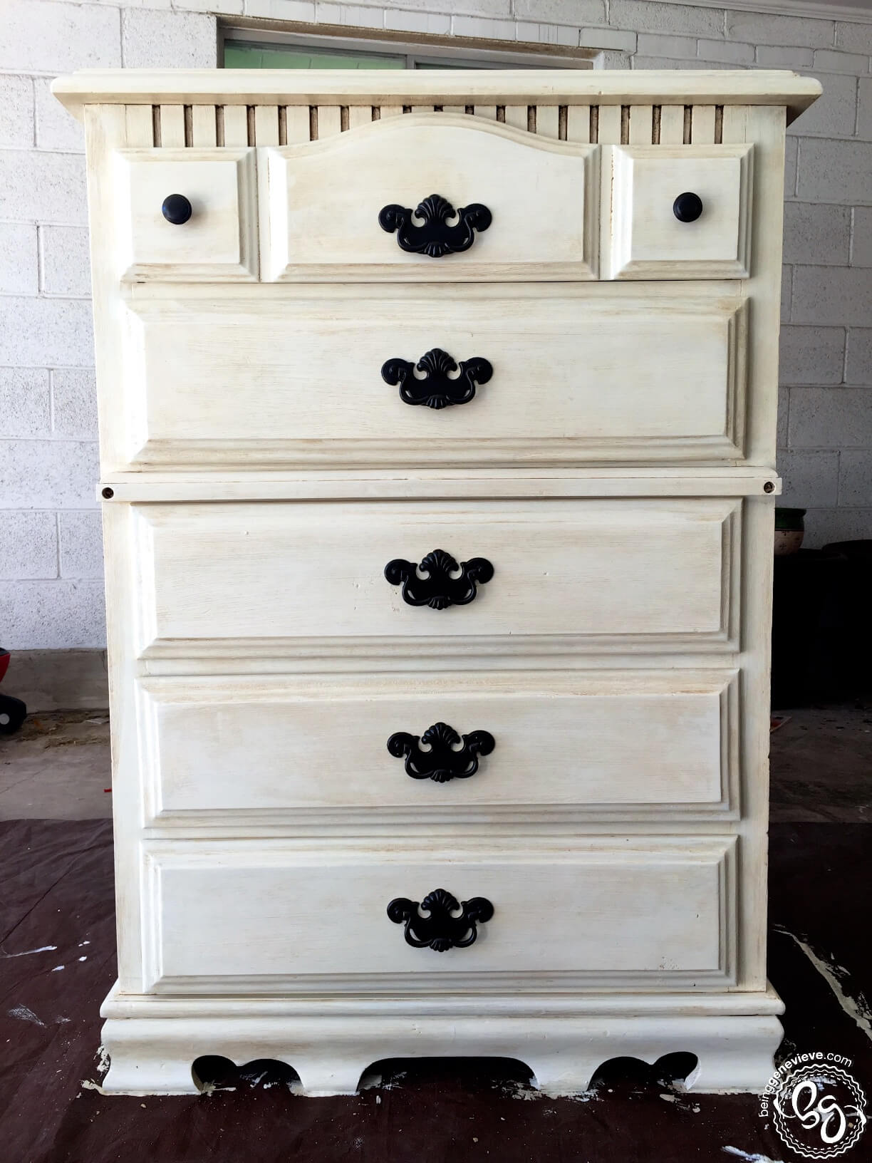 shabby chic dresser being genevieve. Black Bedroom Furniture Sets. Home Design Ideas