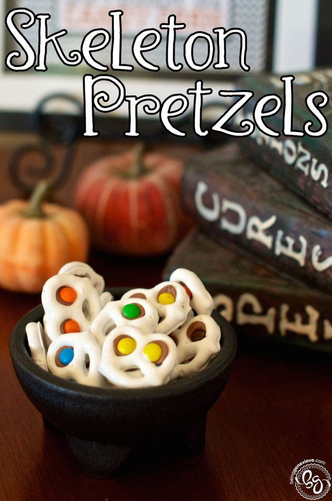Skeleton Pretzels
