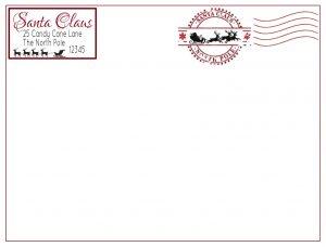 Sant Claus Postmark