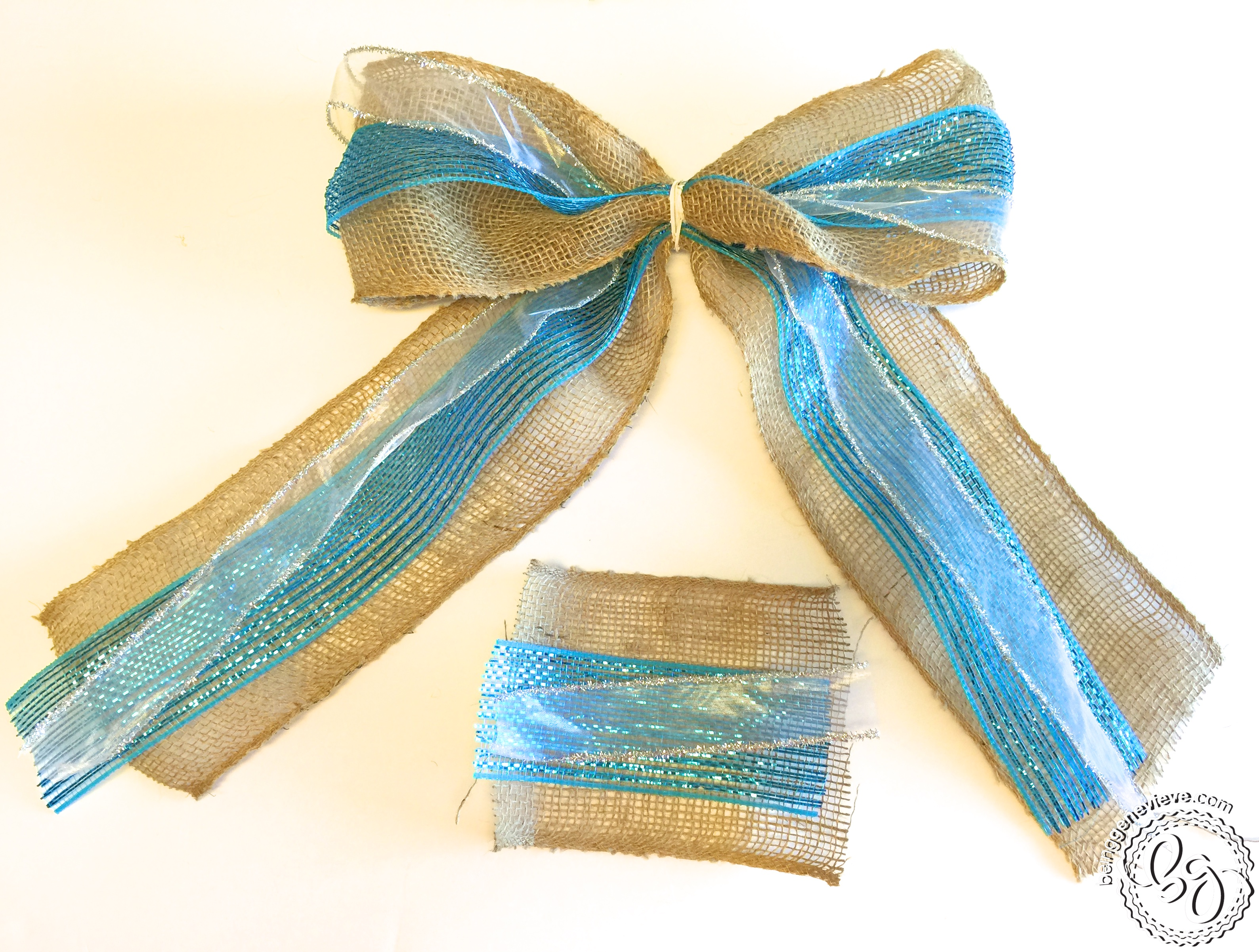 The Perfect Multiple Ribbon Bow   Being Genevieve