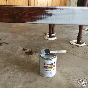 Antique Paint & Stain Technique - Farmhouse Table