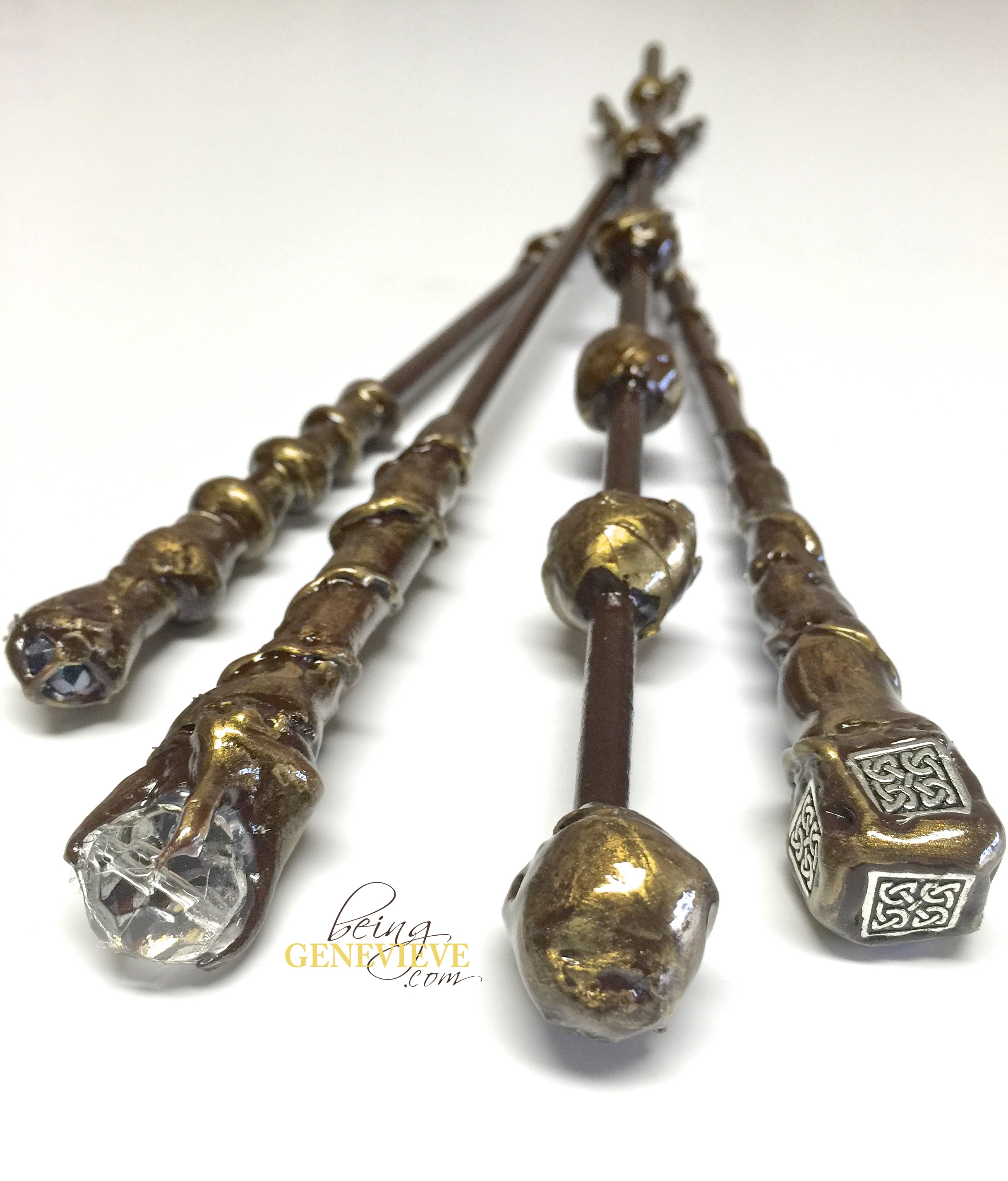 Harry potter wands being genevieve for Wand accessoires