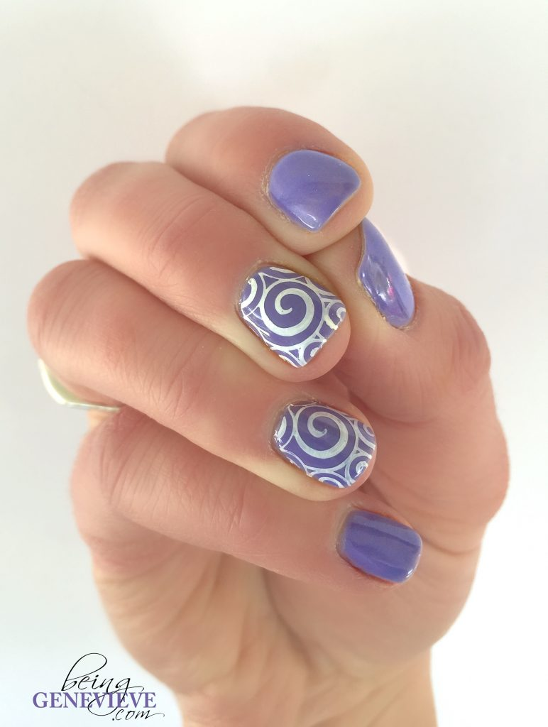 Simply Stamping Swirls