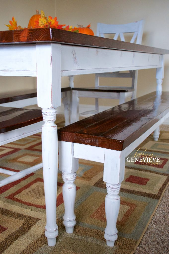 Antique Paint Amp Stain Technique Farmhouse Table Being
