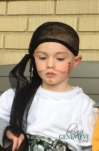 Quick No-Sew Pirate Costume