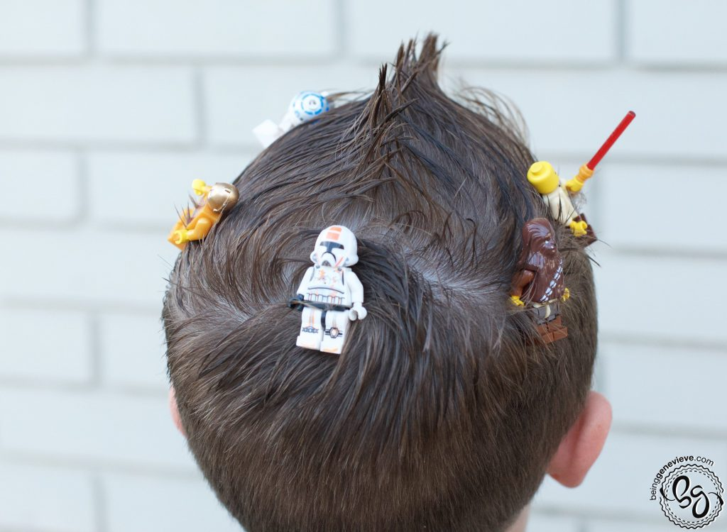 Crazy Awesome Lego Hair
