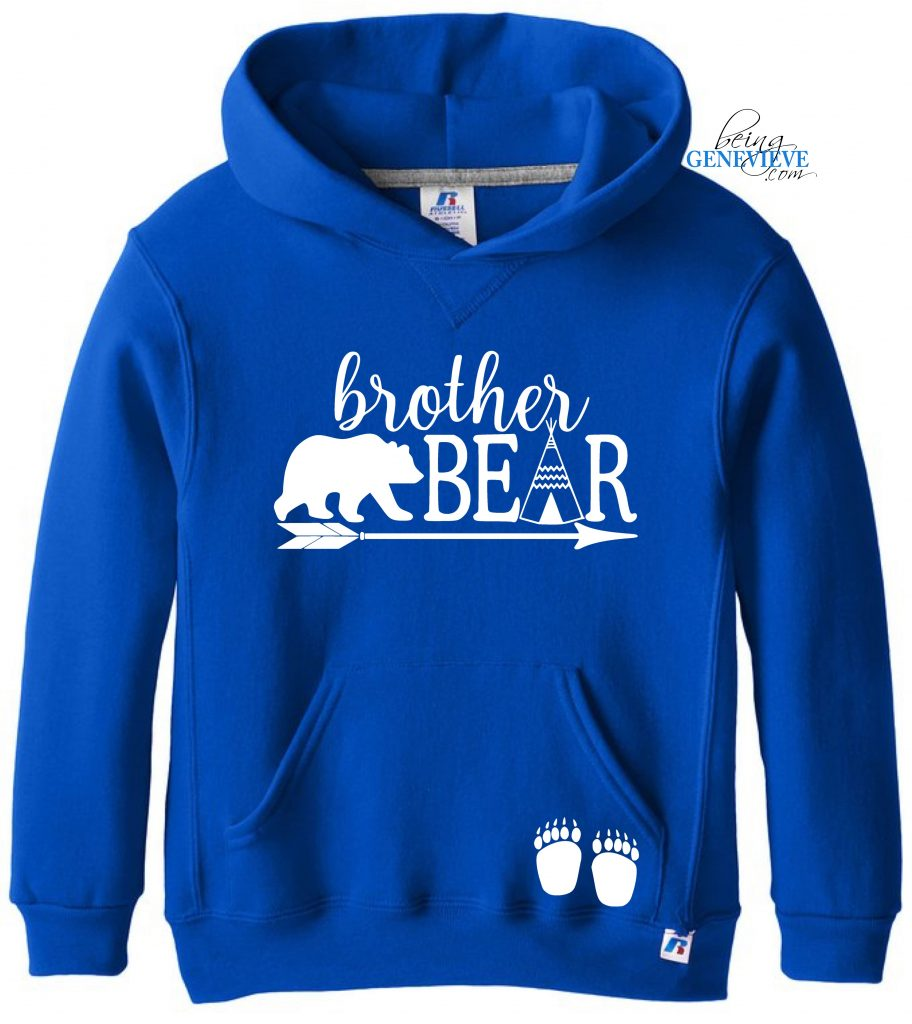 Brother Bear Hoodie