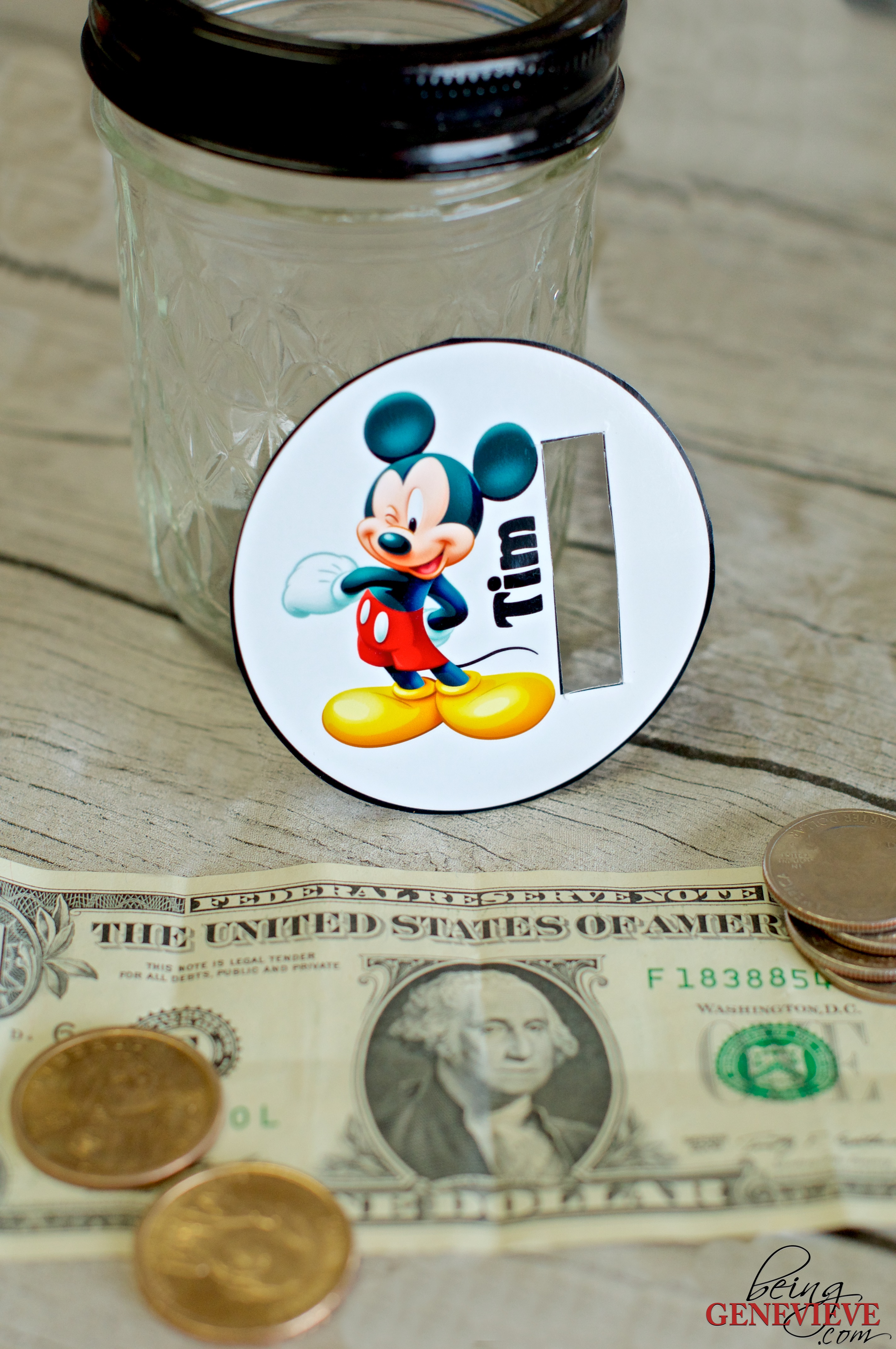 Disney Money Jars