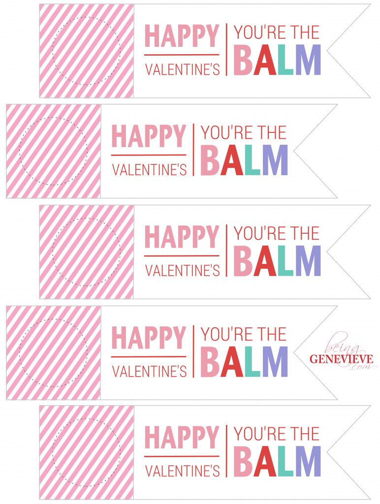 You're The Balm-Valentine
