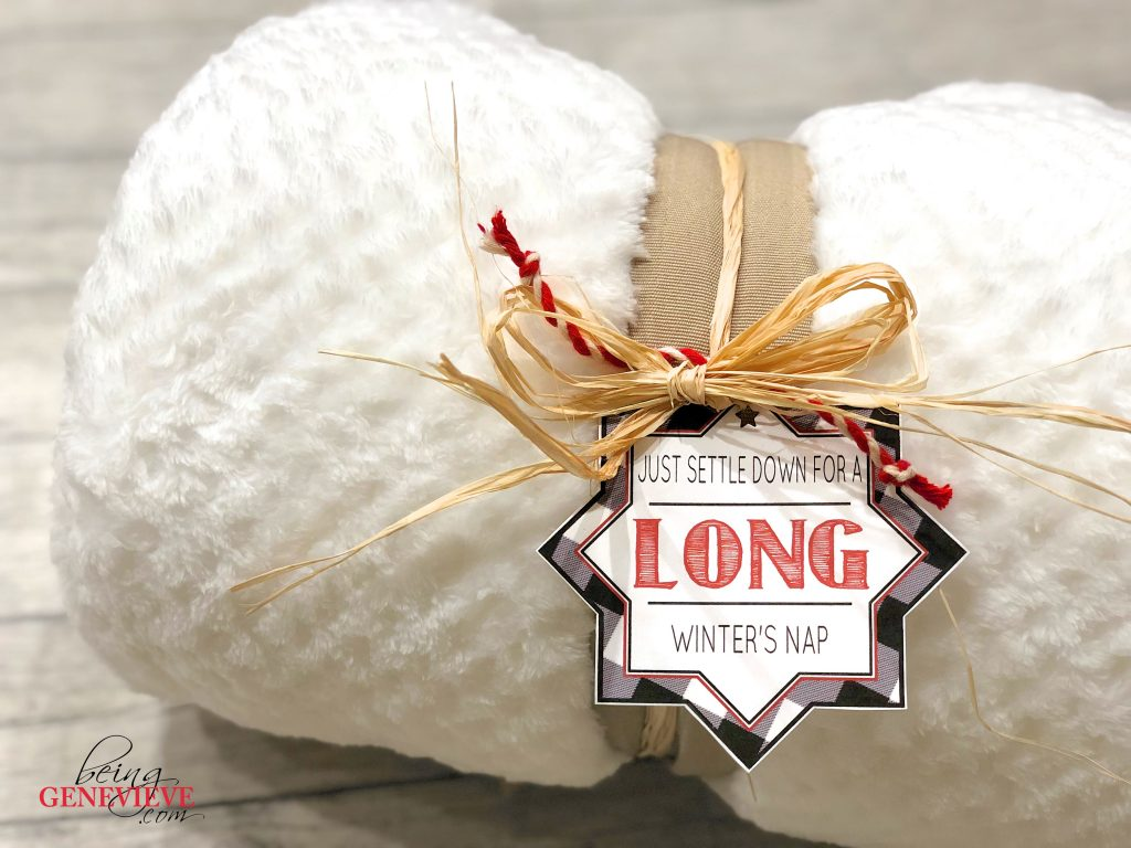 Settle Down For A Long Winter's Nap Printable