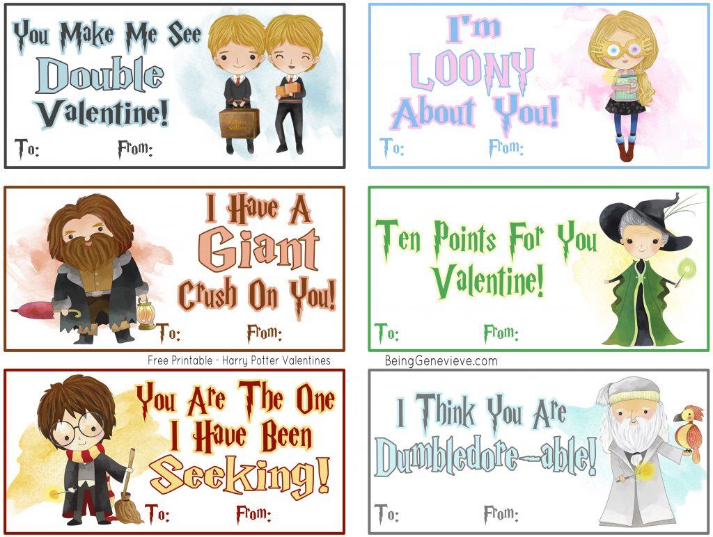 Harry Potter Valentines #1