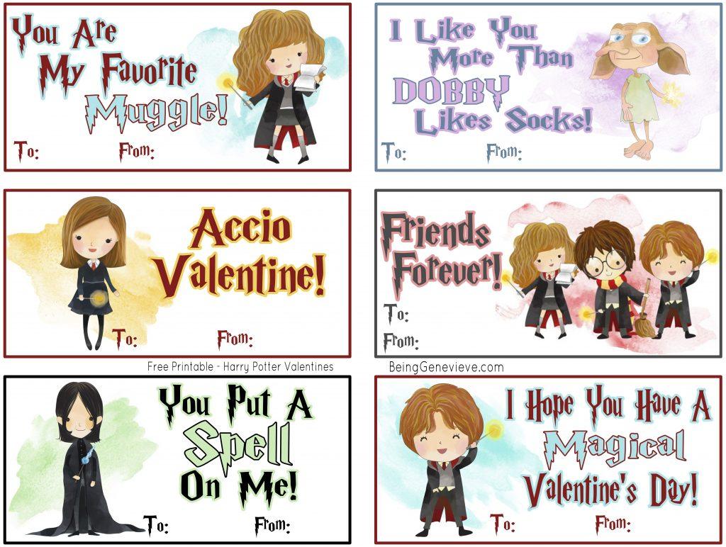 Harry Potter Valentines #2