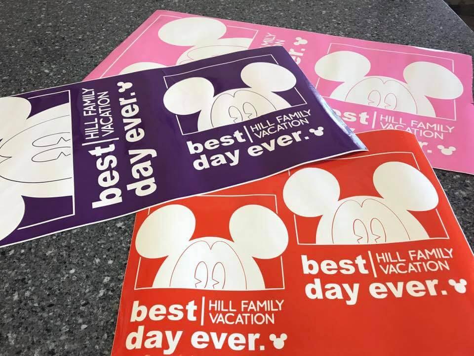 Disney Best Day Ever Shirts