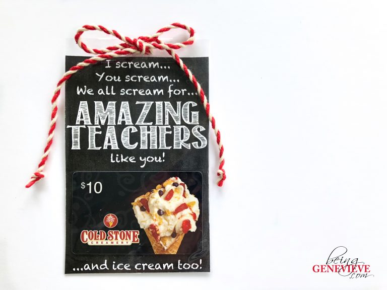 I Scream for Amazing Teachers