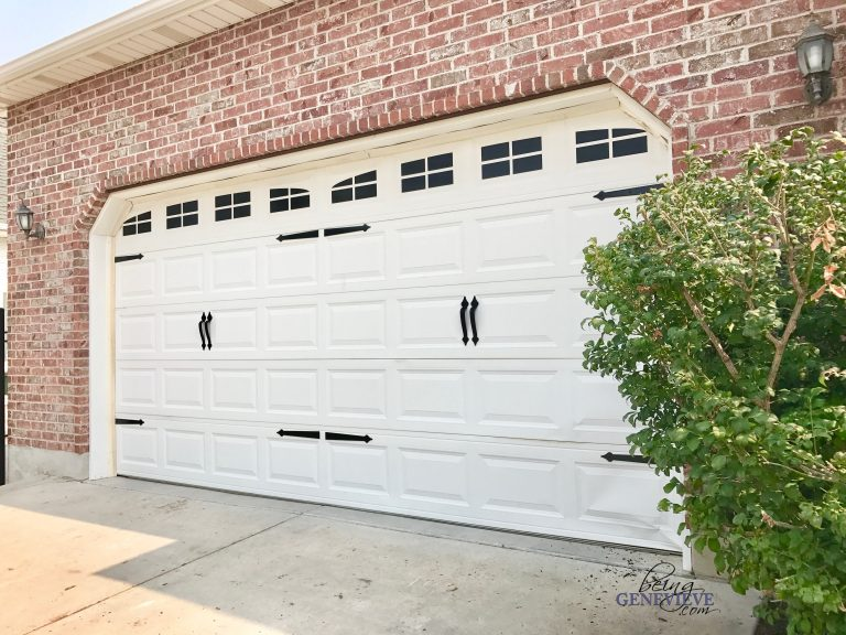 DIY Carriage House Garage Door