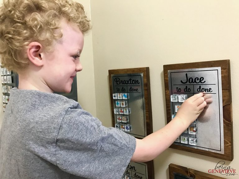Chore Picture Magnets