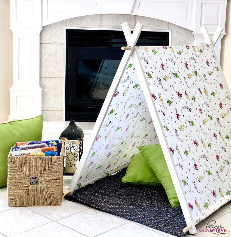 Simple DIY Kid Tent