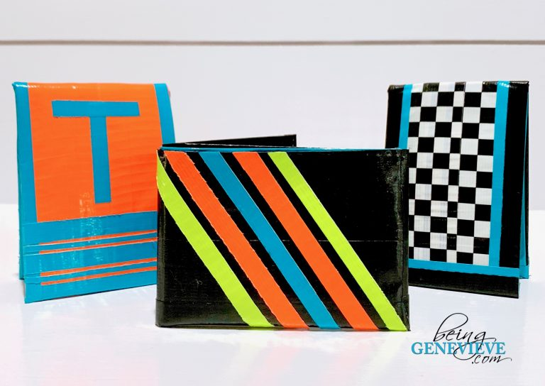 Duck Tape Wallet