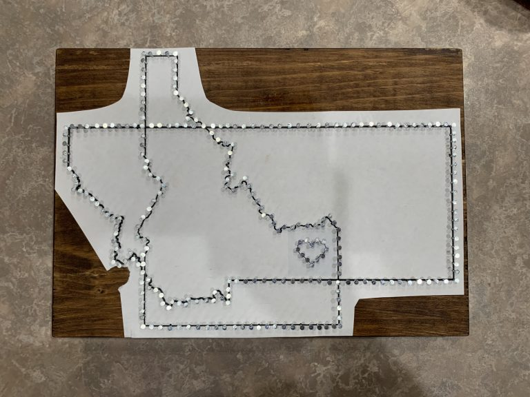 Two State String Art
