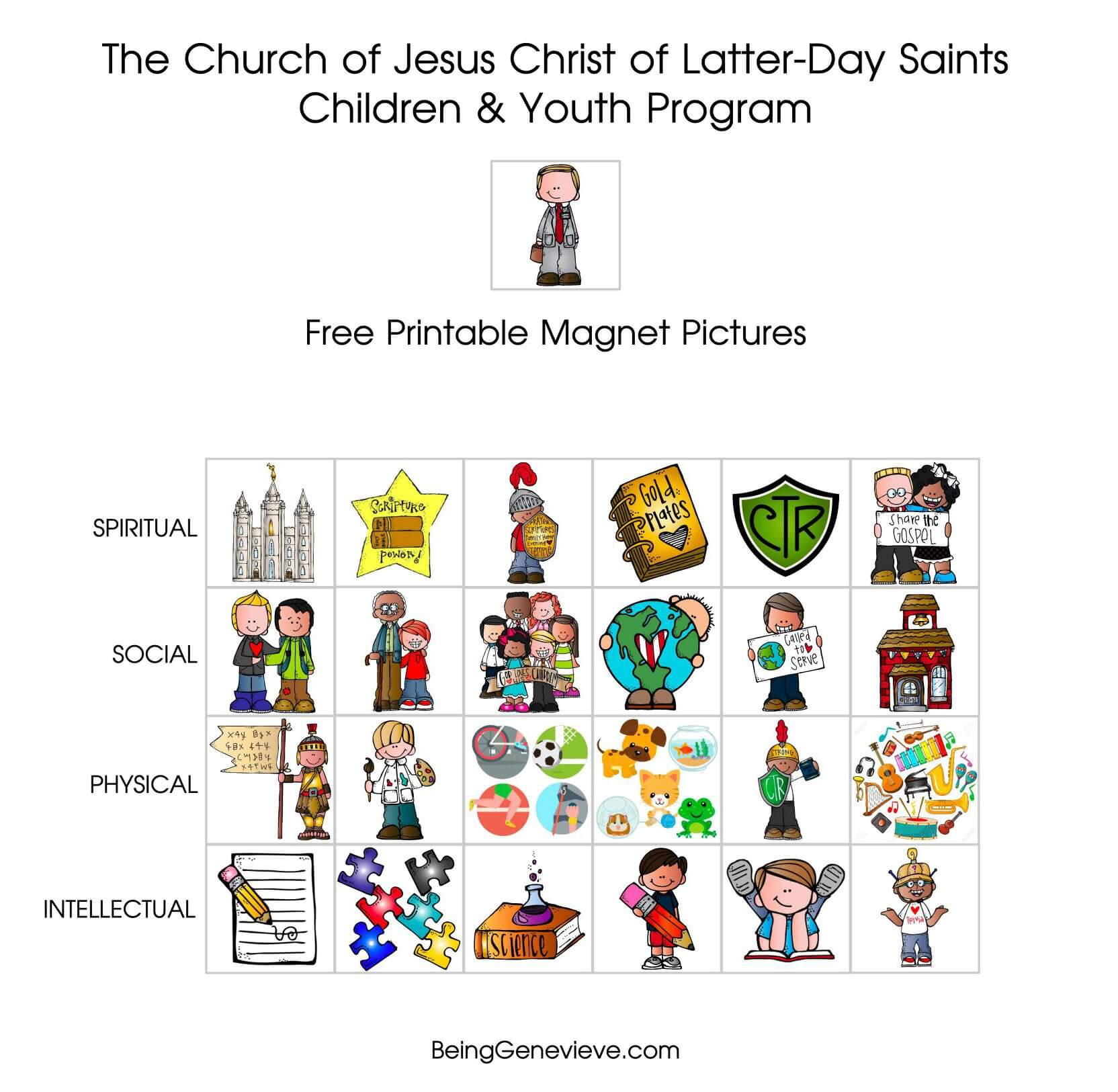 LDS Children and Youth Magnets