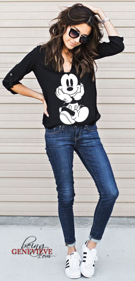 Iron-On Mickey