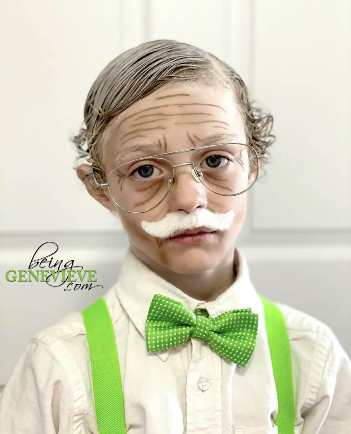 Old Age Makeup for Kids