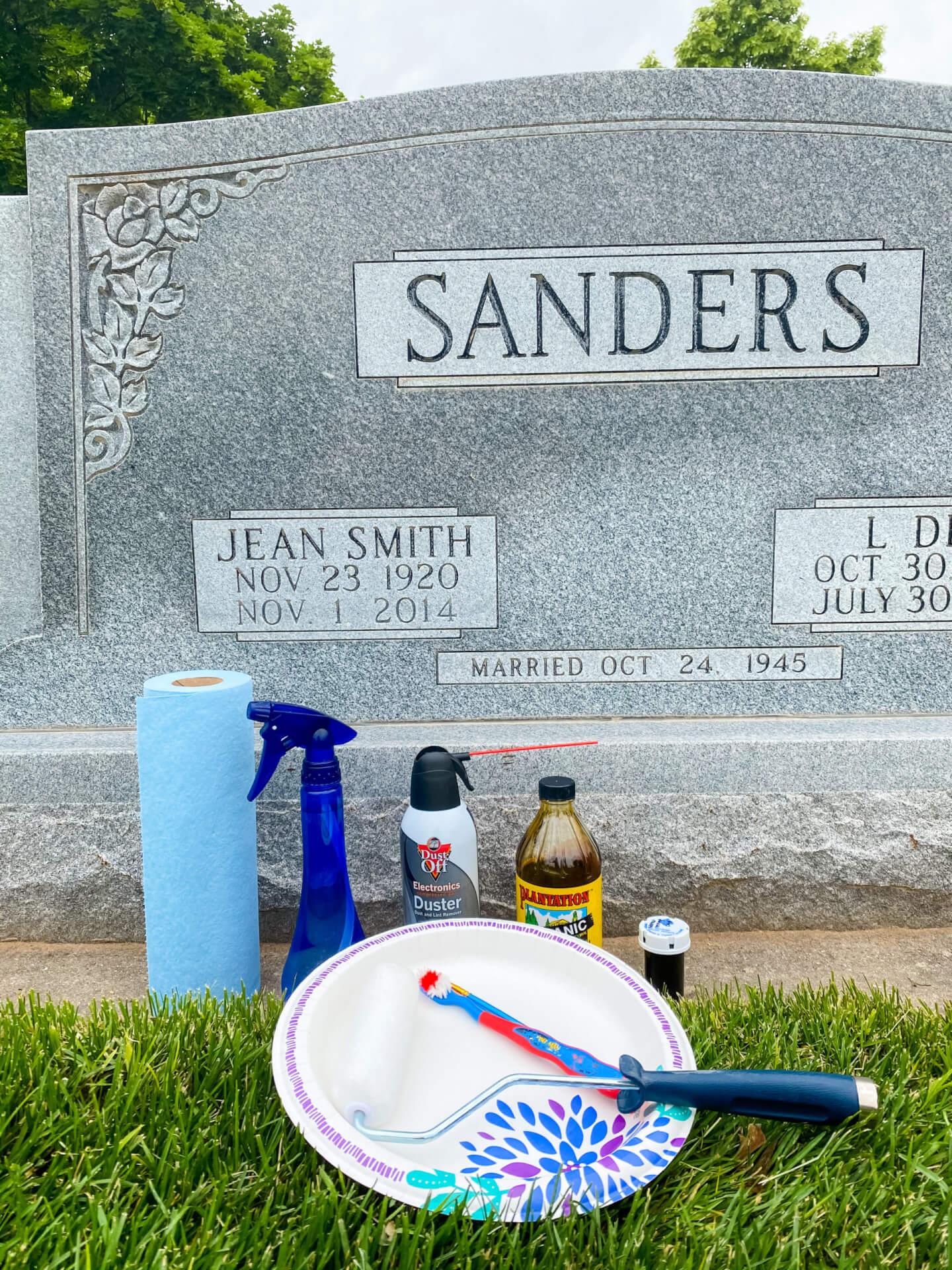 Repaint A Headstone