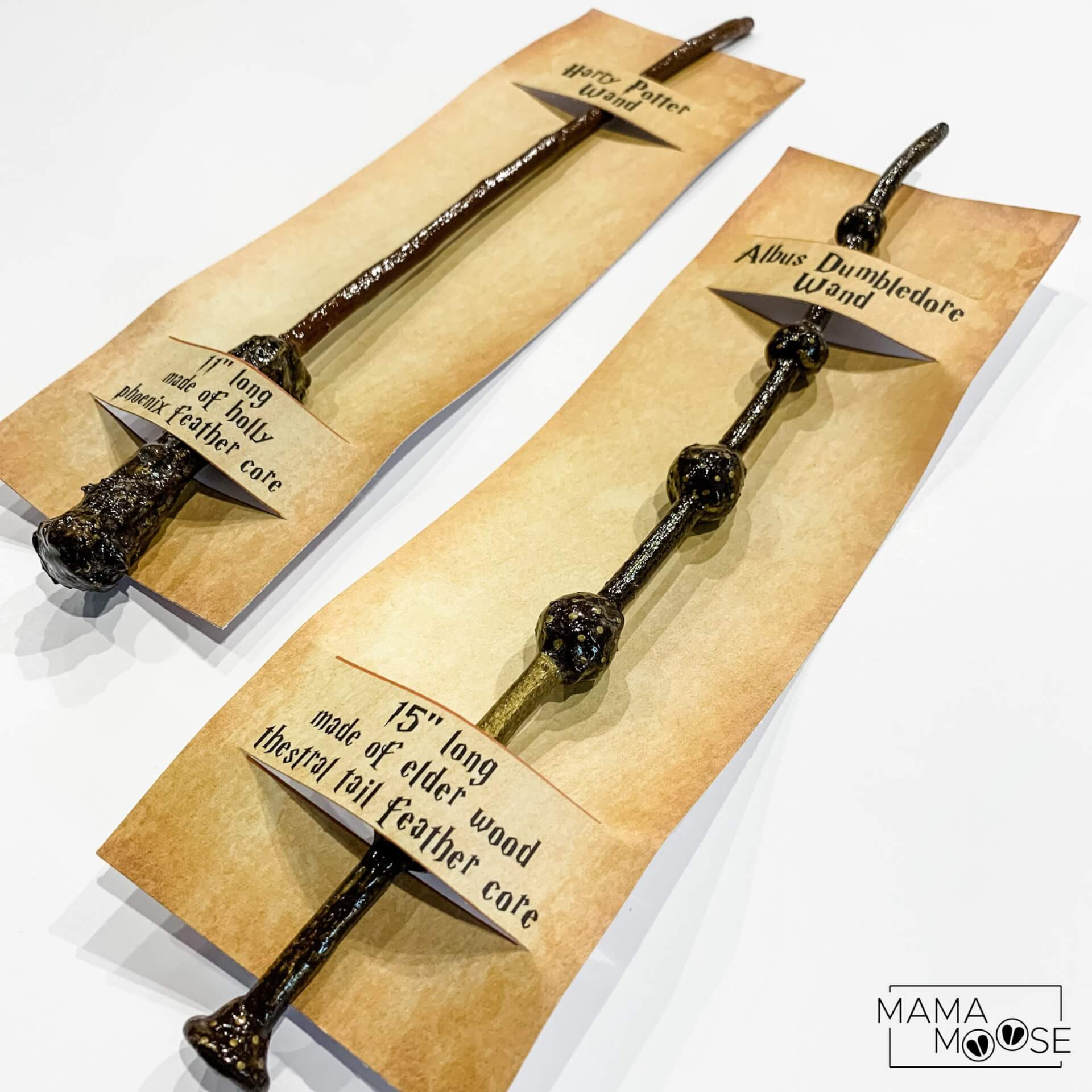 Harry Potter Wand Gift Tag
