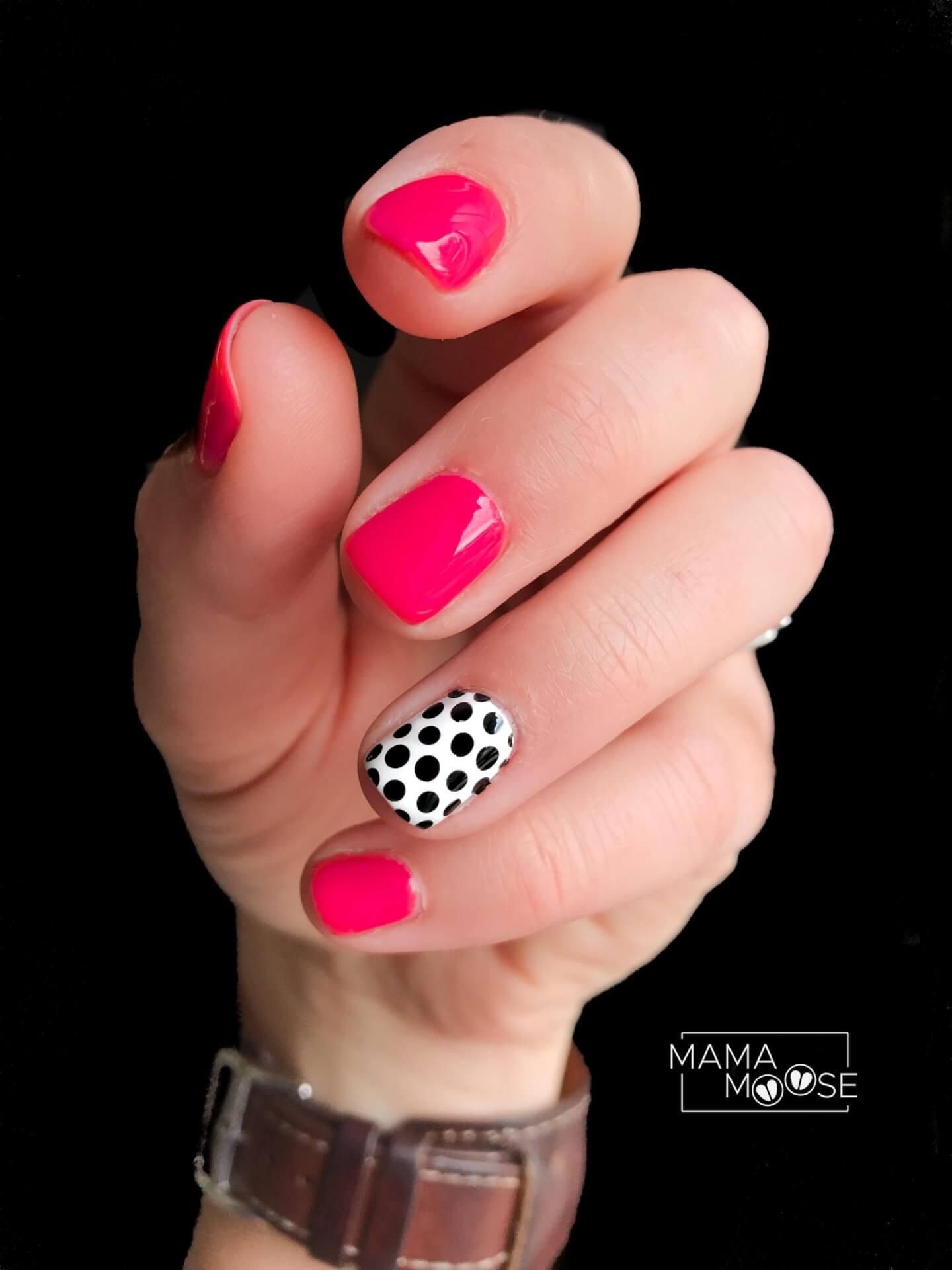 Pink Polka Dot Pop