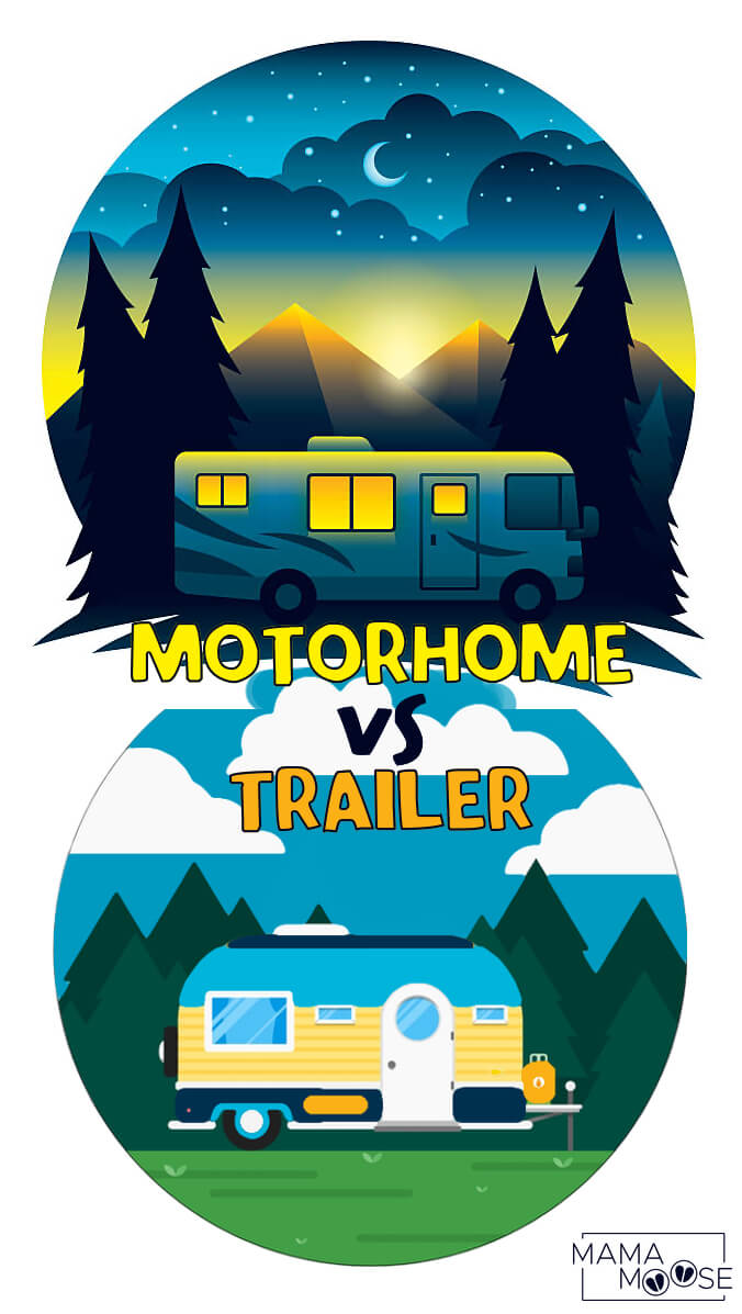 Motorhome vs Trailer
