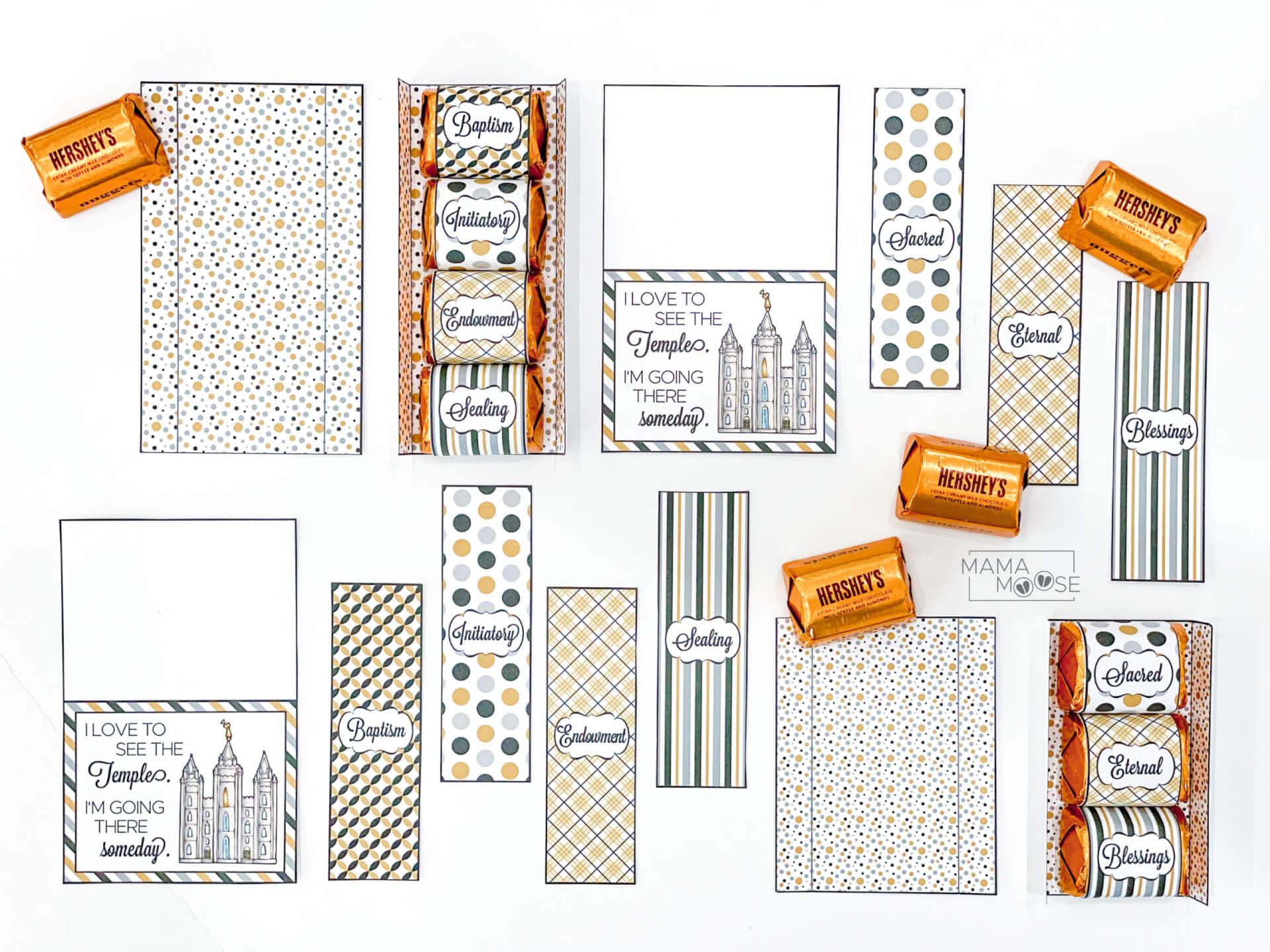Chocolate Temple Printable