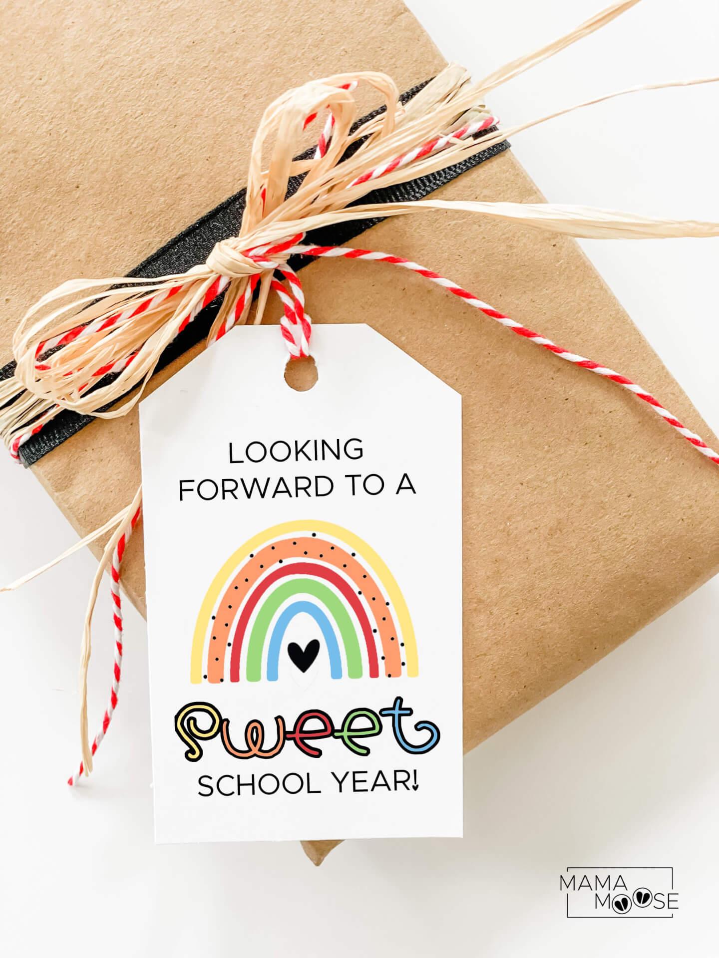 Boho Sweet School Year Tag